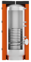 Стоимость бойлеров горячего водоснабжения ВТІ-01 с нижним спиральным теплообменником