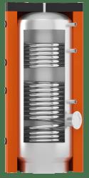 Бойлер горячего водоснабжения ВТІ-11 с двумя спиральными теплообменниками цена